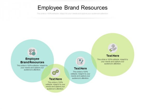 Employee Brand Resources Ppt PowerPoint Presentation Outline Mockup Cpb