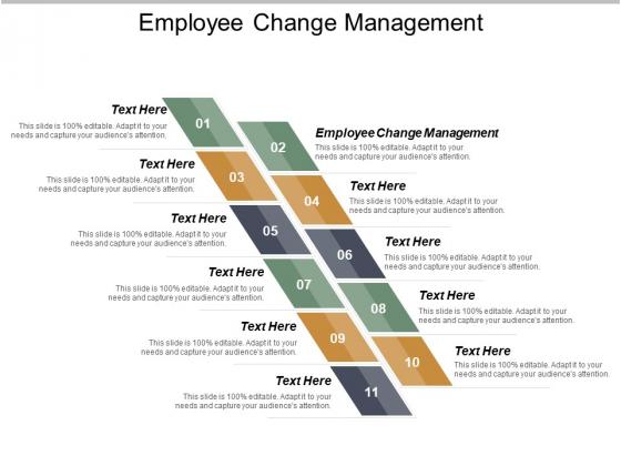 Employee Change Management Ppt Powerpoint Presentation Infographics Design Ideas Cpb