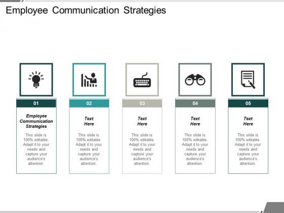 Employee Communication Strategies Ppt PowerPoint Presentation Portfolio Skills