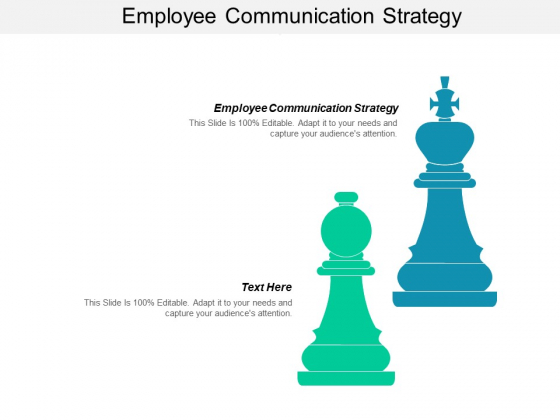 Employee Communication Strategy Ppt PowerPoint Presentation Inspiration File Formats
