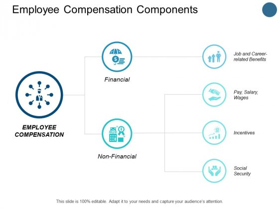 Employee Compensation Components Pay Ppt PowerPoint Presentation Infographic Template Example