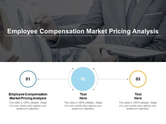 Employee Compensation Market Pricing Analysis Ppt PowerPoint Presentation Slides Graphics Tutorials Cpb