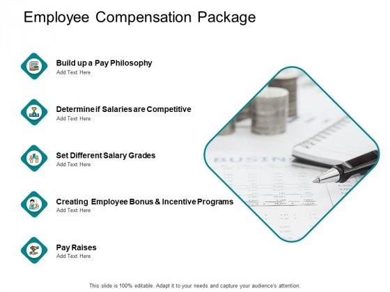 Employee Compensation Package Ppt PowerPoint Presentation Summary Design Inspiration
