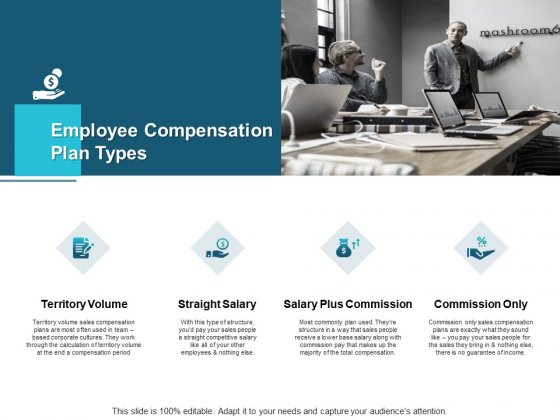 Employee Compensation Plan Types Straight Salary Ppt PowerPoint Presentation Inspiration Layout