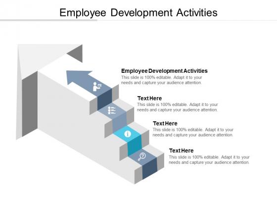 Employee Development Activities Ppt PowerPoint Presentation Show Graphics Cpb