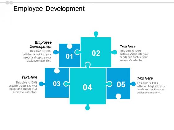 Employee Development Ppt PowerPoint Presentation Portfolio Clipart Cpb
