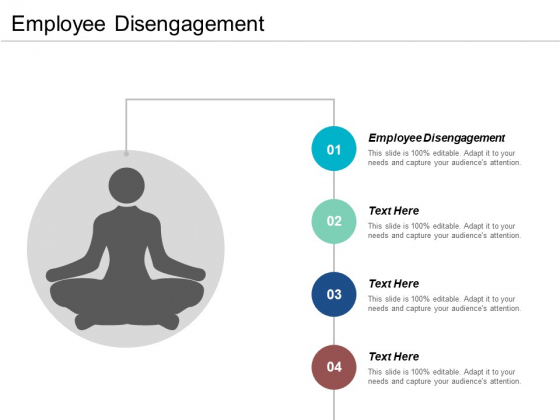 Employee Disengagement Ppt PowerPoint Presentation File Infographics Cpb