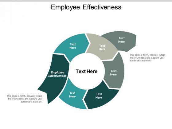 Employee Effectiveness Ppt PowerPoint Presentation Portfolio Design Inspiration Cpb