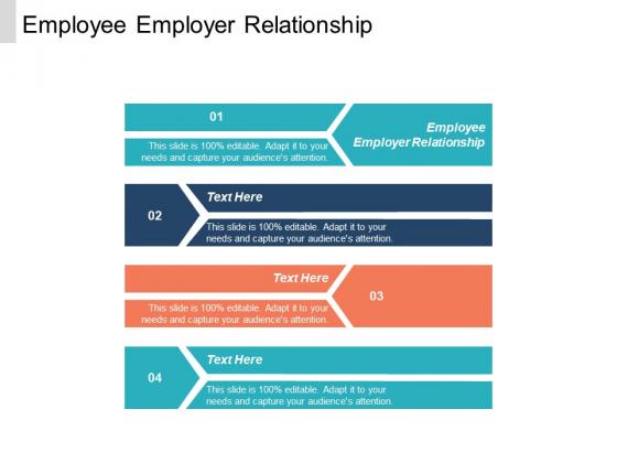 Employee Employer Relationship Ppt PowerPoint Presentation File Slide Portrait Cpb
