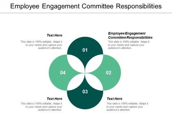 Employee Engagement Committee Responsibilities Ppt Powerpoint Presentation Show Styles Cpb
