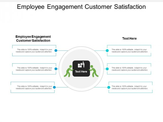 Employee Engagement Customer Satisfaction Ppt PowerPoint Presentation Ideas Designs Cpb