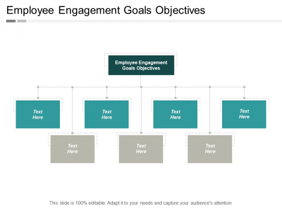 Employee Engagement Goals Objectives Ppt PowerPoint Presentation Portfolio Example File Cpb