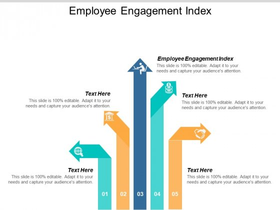 Employee Engagement Index Ppt PowerPoint Presentation File Visuals Cpb