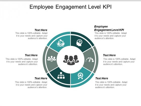 Employee Engagement Level Kpi Ppt PowerPoint Presentation Design Ideas Cpb