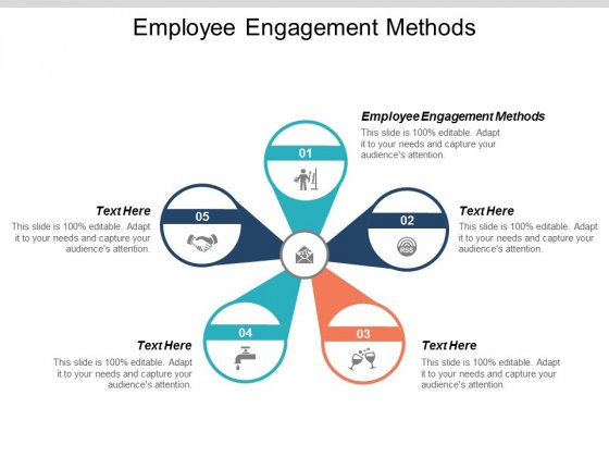 Employee Engagement Methods Ppt PowerPoint Presentation Model Skills Cpb