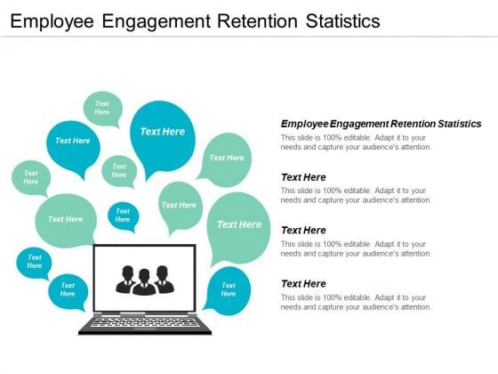 Employee Engagement Retention Statistics Ppt PowerPoint Presentation Gallery Deck