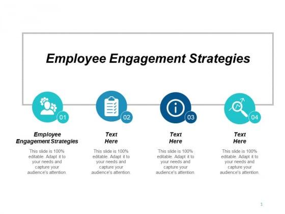 Employee Engagement Strategies Ppt PowerPoint Presentation Model Slide Cpb