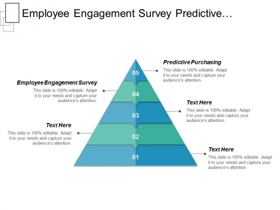Employee Engagement Survey Predictive Purchasing Ppt PowerPoint Presentation Summary Infographics