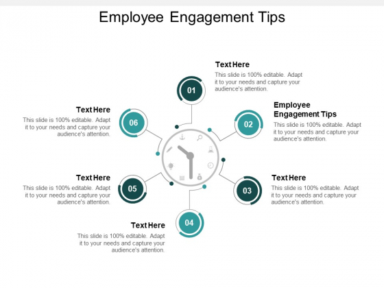 Employee Engagement Tips Ppt PowerPoint Presentation Styles Example Introduction Cpb