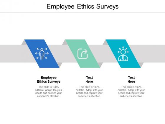 Employee Ethics Surveys Ppt PowerPoint Presentation Ideas Mockup Cpb