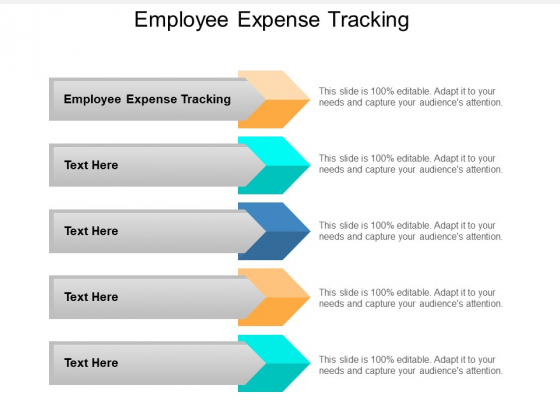 Employee Expense Tracking Ppt PowerPoint Presentation Infographics Graphics Tutorials Cpb