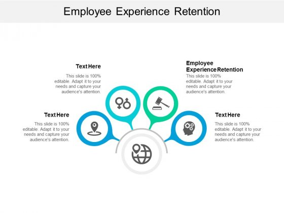 Employee Experience Retention Ppt PowerPoint Presentation Visual Aids Model Cpb