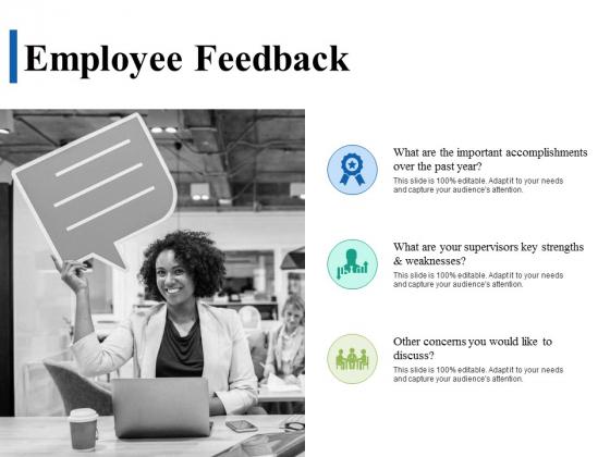 Employee Feedback Ppt PowerPoint Presentation Infographics Deck