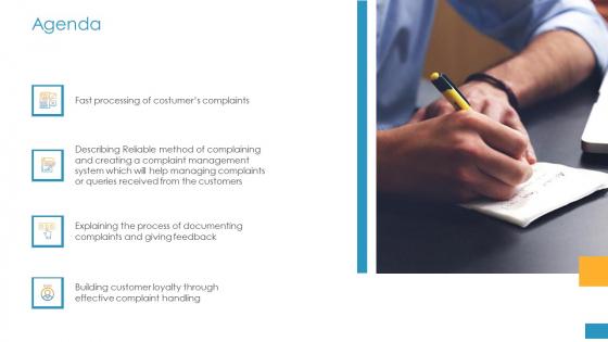 Employee Grievance Handling Process Agenda Ppt Backgrounds PDF