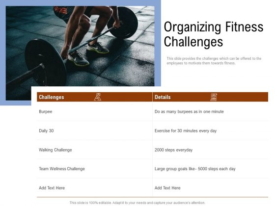 Employee_Health_And_Fitness_Program_Organizing_Fitness_Challenges_Clipart_PDF_Slide_1