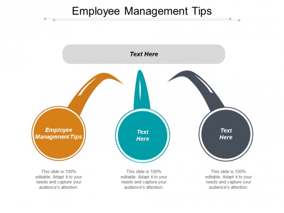 Employee Management Tips Ppt PowerPoint Presentation Infographic Template Graphics Example