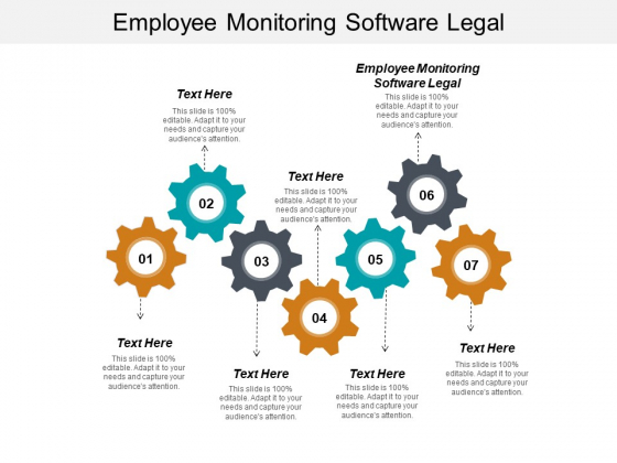 Employee Monitoring Software Legal Ppt PowerPoint Presentation Guidelines Cpb