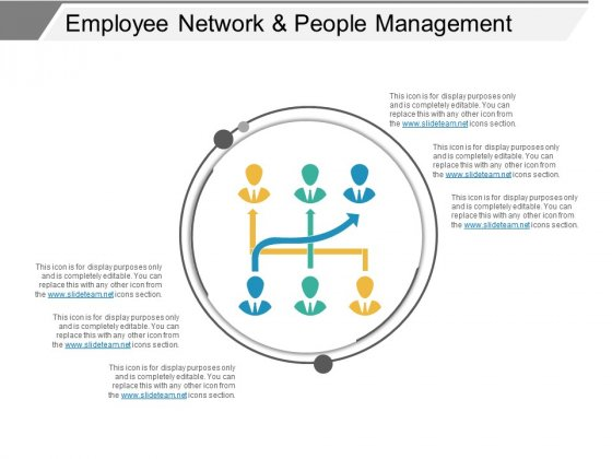 Employee Network And People Management Ppt PowerPoint Presentation Infographics Shapes