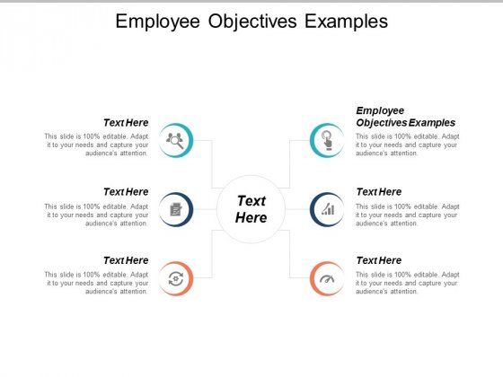 Employee Objectives Examples Ppt PowerPoint Presentation Show Aids Cpb