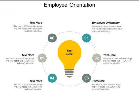 Employee Orientation Ppt PowerPoint Presentation Inspiration Visual Aids Cpb