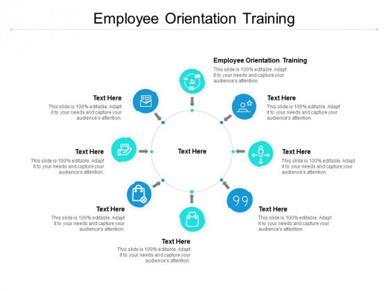 Employee Orientation Training Ppt PowerPoint Presentation Slides Information Cpb