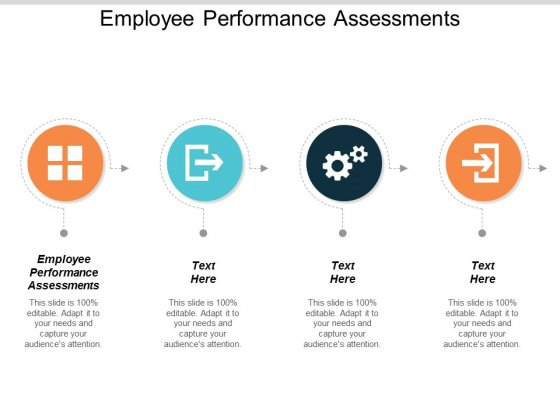 Employee Performance Assessments Ppt PowerPoint Presentation Infographics Template Cpb