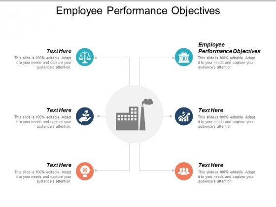 Employee Performance Objectives Ppt PowerPoint Presentation Outline Maker Cpb