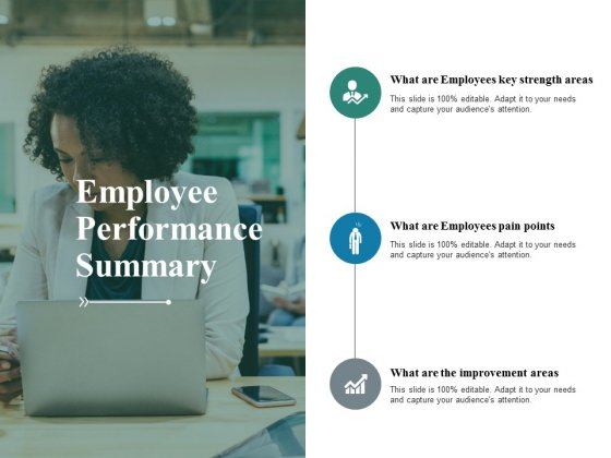 Employee Performance Summary Ppt PowerPoint Presentation Inspiration Guidelines