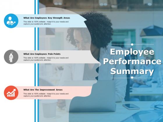 Employee Performance Summary Ppt PowerPoint Presentation Styles Slide