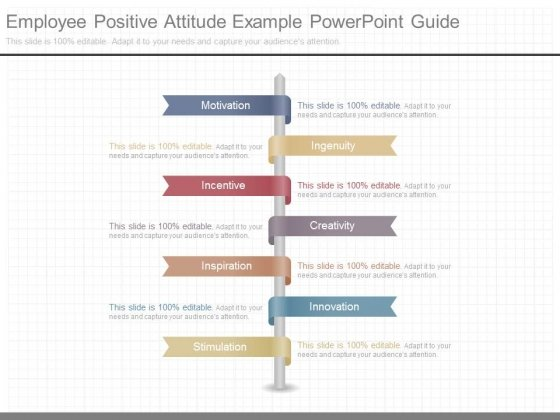 Employee Positive Attitude Example Powerpoint Guide