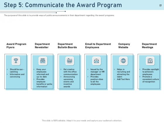 Employee_Recognition_Award_Ppt_PowerPoint_Presentation_Complete_Deck_With_Slides_Slide_17