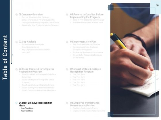 Employee_Recognition_Award_Ppt_PowerPoint_Presentation_Complete_Deck_With_Slides_Slide_18