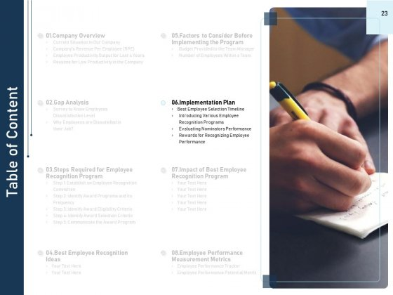 Employee_Recognition_Award_Ppt_PowerPoint_Presentation_Complete_Deck_With_Slides_Slide_23