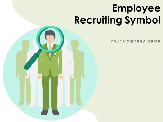 Employee Recruiting Symbol Disapproval Sign During Onboarding Magnifying Glass Ppt PowerPoint Presentation Complete Deck