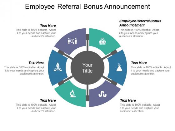 Employee Referral Bonus Announcement Ppt PowerPoint Presentation Infographics Layout