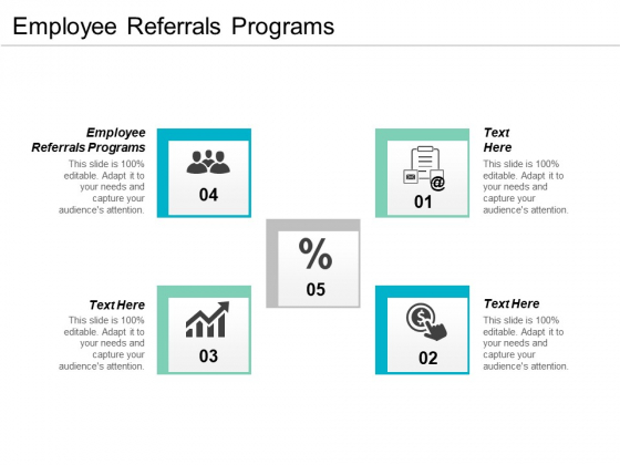 Employee Referrals Programs Ppt PowerPoint Presentation Infographics Layouts Cpb