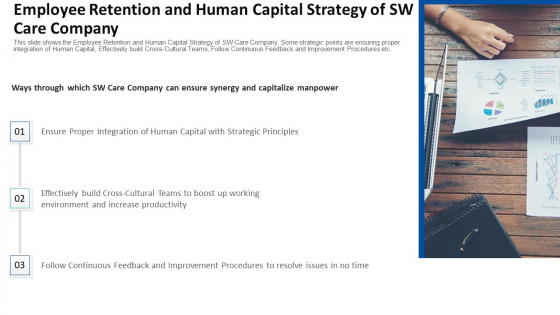 Employee Retention And Human Capital Strategy Of SW Care Company Ppt Infographics Diagrams PDF