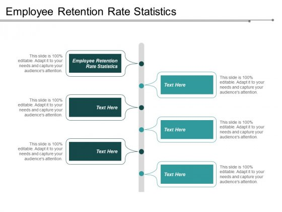 Employee Retention Rate Statistics Ppt PowerPoint Presentation Show Background Image Cpb