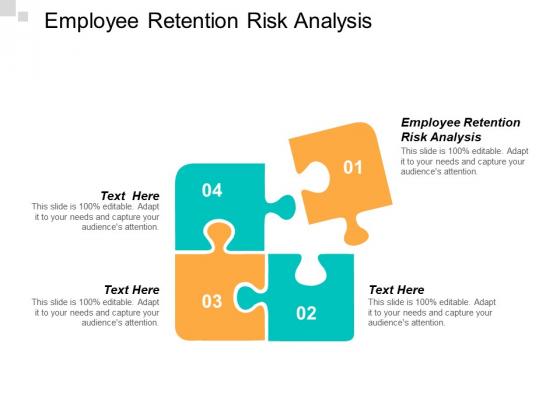 Employee Retention Risk Analysis Ppt PowerPoint Presentation Show Cpb