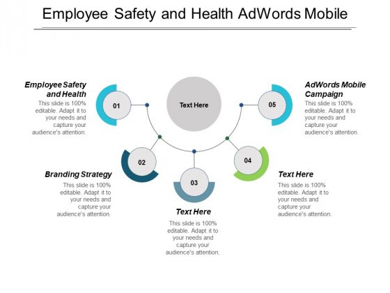 Employee Safety And Health Adwords Mobile Campaign Branding Strategy Ppt PowerPoint Presentation Ideas Maker